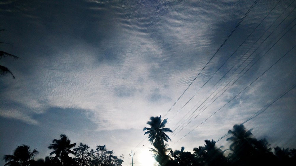 South Kerala Sky 4 pm