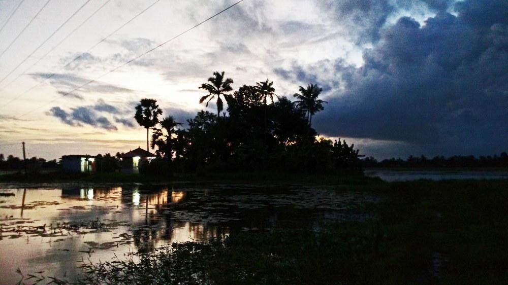 Surreal Sunset Changanassery