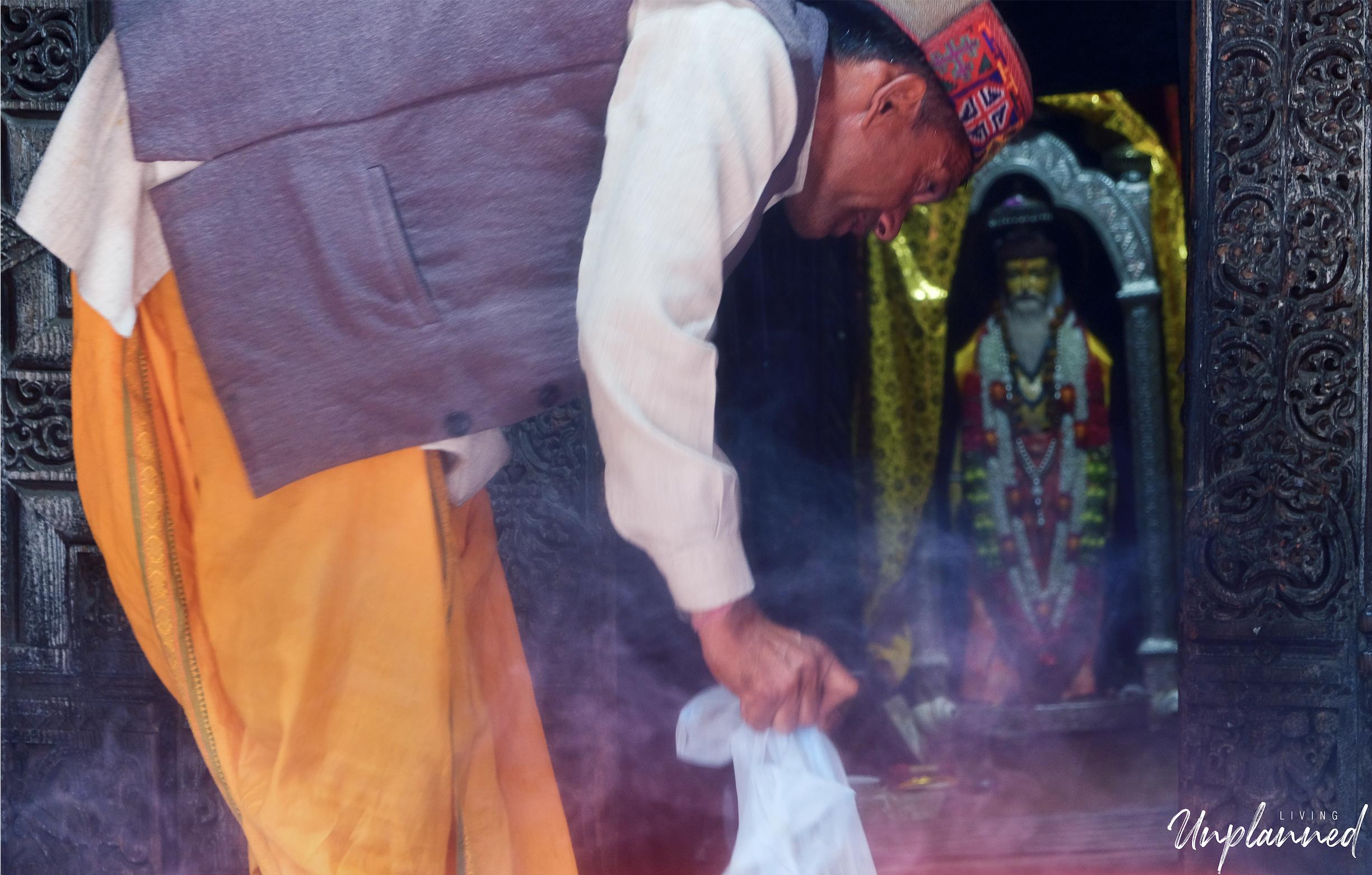 Prashar Temple Priest